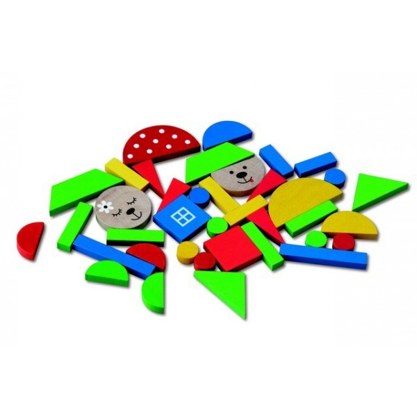 Detoa: Magnetické puzzle medvědi