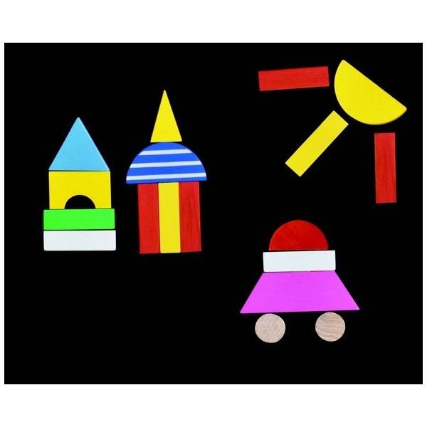 Detoa: Magnetické puzzle děti