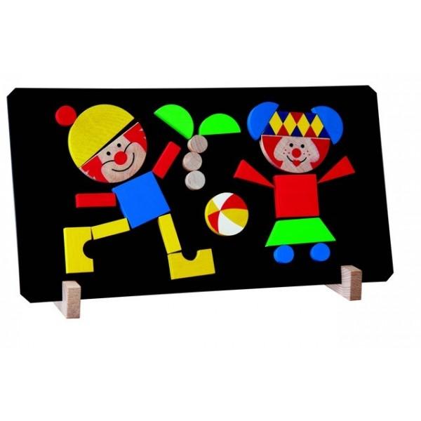 Detoa: Magnetické puzzle klauni