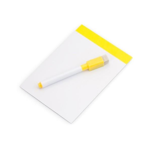 Yupit magnetická tabule - žlutá