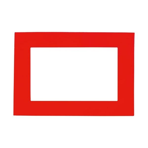 Magneto červený fotorámeček