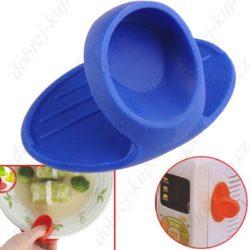 Chňapka s magnetem - modrá