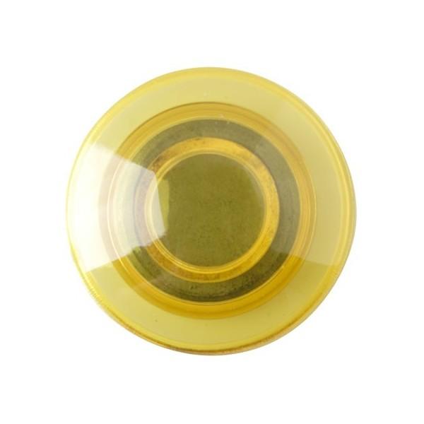 Magnet na ledničku - kulatý,žlutý