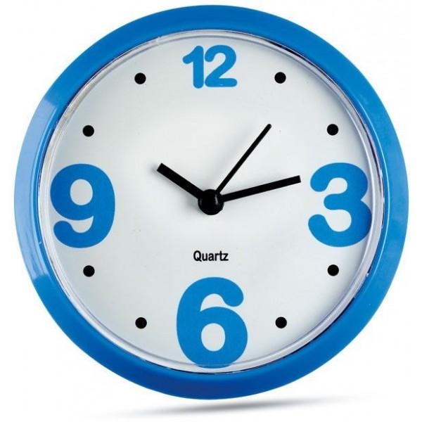 Magnetické nástěnné hodiny - modré