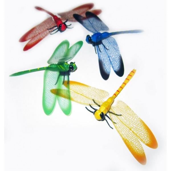 magnetka Vážka - žlutá