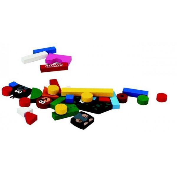 Detoa: Magnetické puzzle Krtek