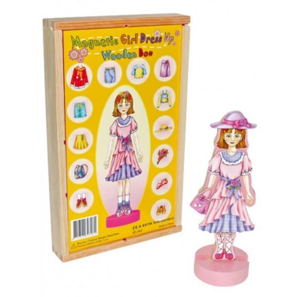 """RaKonrad - Převlékací magnetická panenka """"Magda"""""""