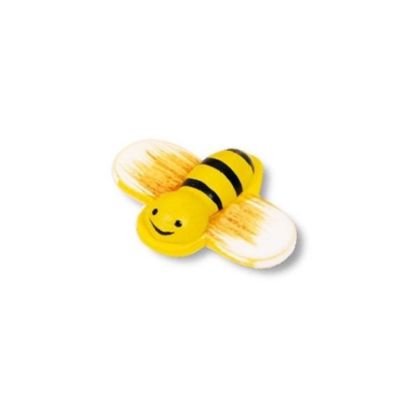 magnetka včelka - dřevěné dekorace - dřevěné magnetky