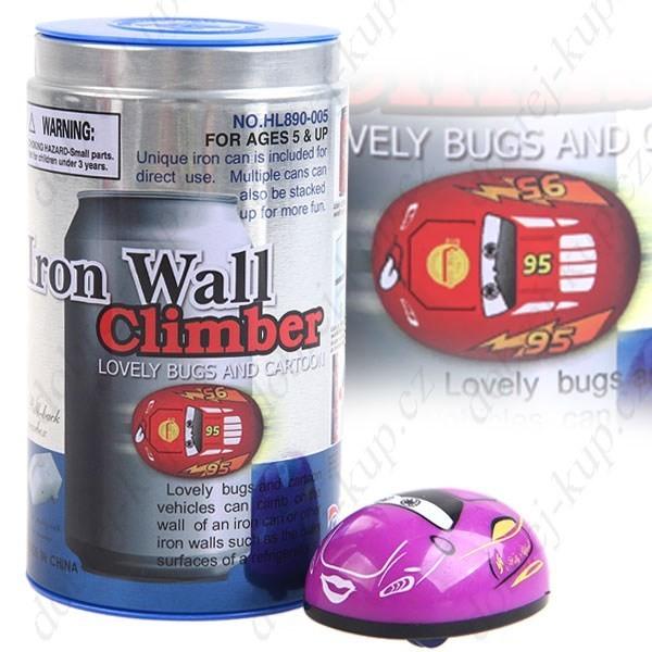 Iron wall climber + plechovka