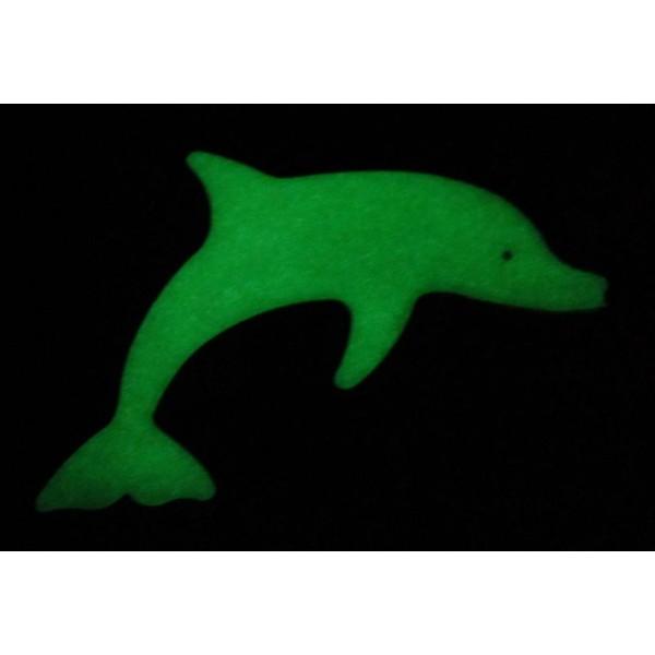 svítící magnetek - velký delfín