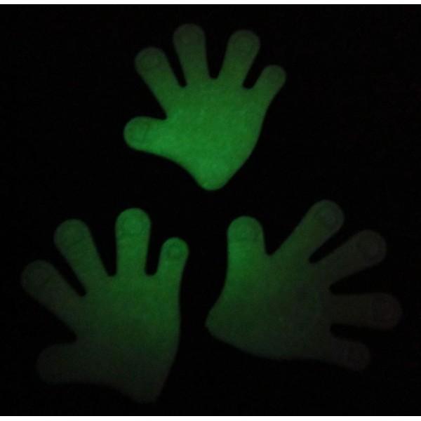 svítící magnetek - střední ruka
