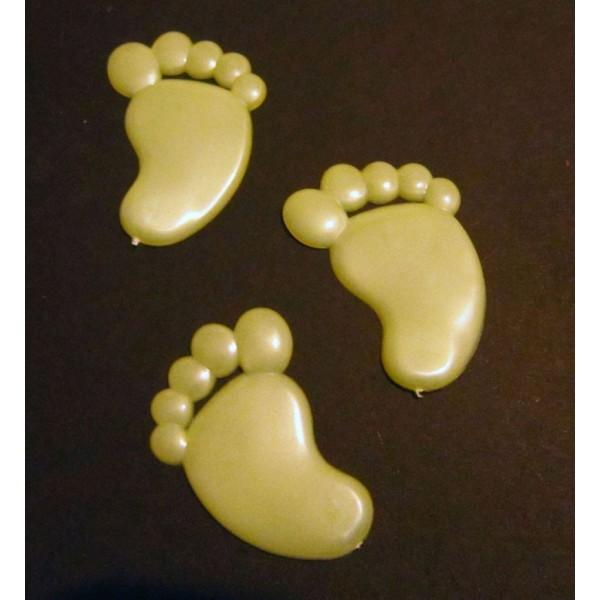 svítící magnetek - malá noha