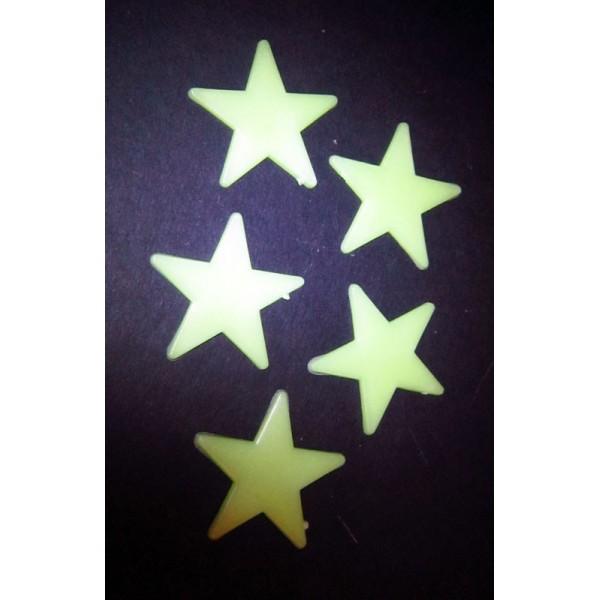 svítící magnetek - hvězda