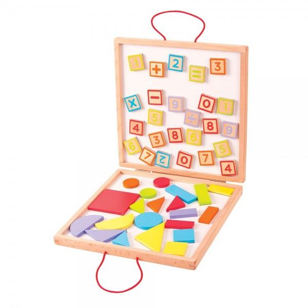 Bigjigs - Dřevěná výtvarná hračka