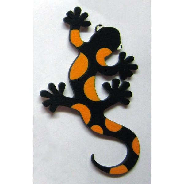 magnetka Mlok skvrnitý - dřevěné dekorace - dřevěné magnetky