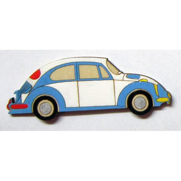 magnet Auto veterán - dřevěné dekorace - dřevěné magnetky