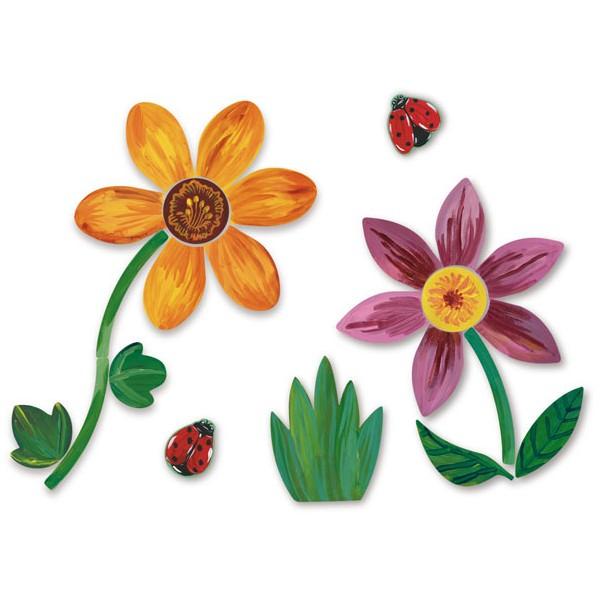 Hračky Vilac - Magnetky květin 55 dílků